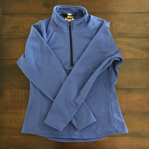 REI Fleece Half Zip Pullover